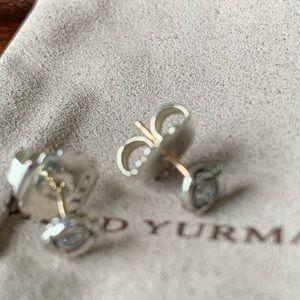 David Yurman petite diamond earrings